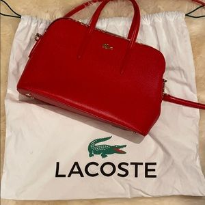 Lacoste Leather Tote